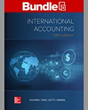 GEN COMBO LOOSELEAF  INTERNATIONAL ACCOUNTING: CONNECT AC