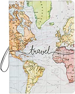 Passport Cover, Arsmat Passport Holder Travel Document Organizer, Plastic US Passport Holder for Kid, Women (Pattern 4)