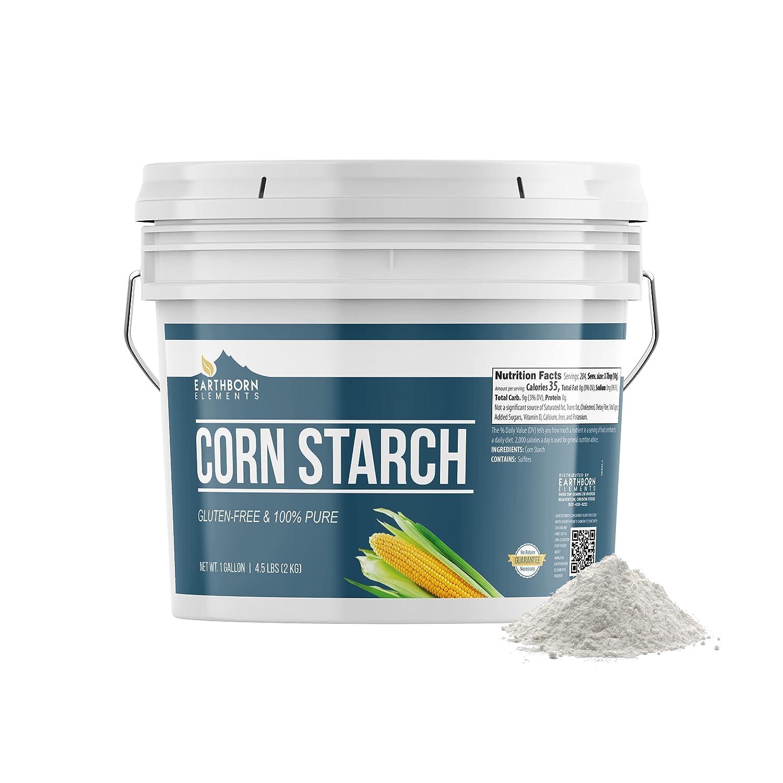 Corn Starch (1 Gallon) Resealable Bucket, Thickener For Sauces, Soup, & Gravy, Vegan, Gluten-Free