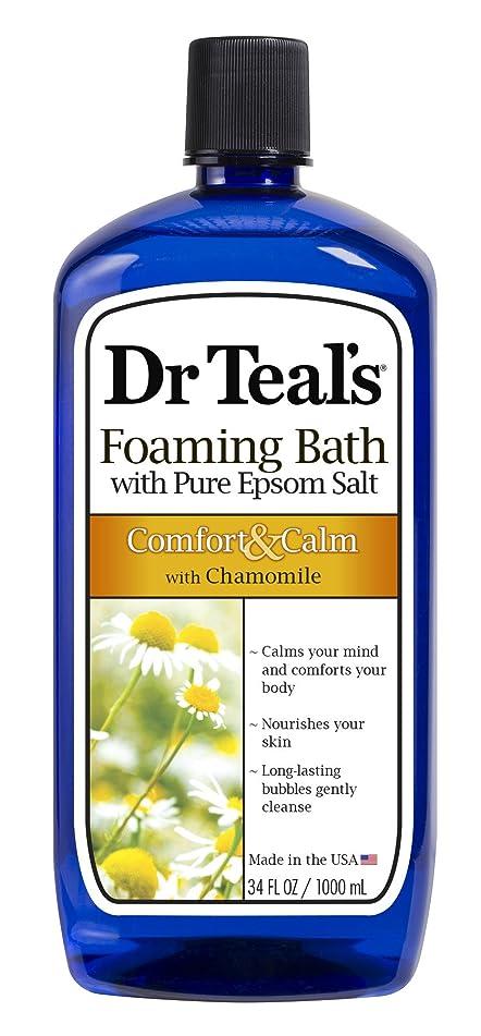 Dr Teal's Foaming Bath, Chamomile, 34 Fluid Ounce
