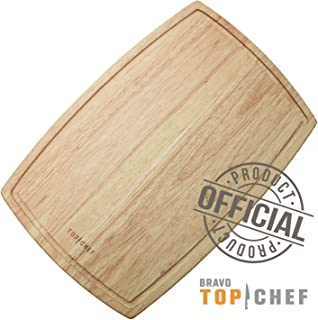 TOP CHEF - Small Natural Wood Cutting Board 8
