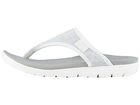 White Blue BlackIndian Toe Thong BlueUrban Silver Sandals Uberknit Powder FitFlop qaOwF8XX