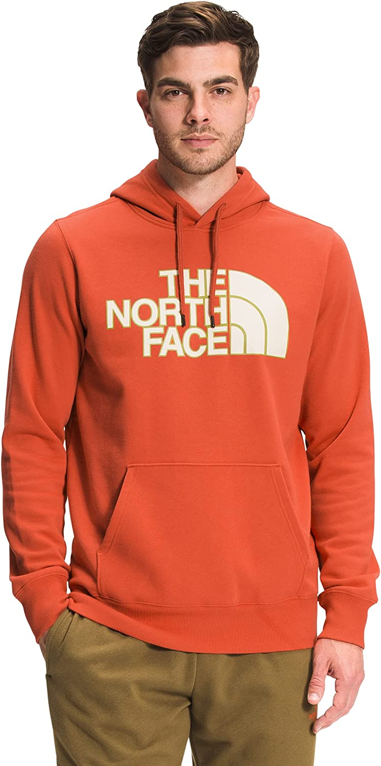 The North Face Half Dome Pullover Hoodie Burnt Ochre 3XL
