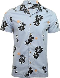 BRAVE SOUL 'Bonsai' Hawaiian Shirt