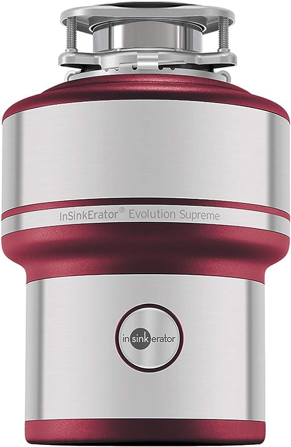 InSinkErator Evolution 200 S Устройство для удаления пищевых отходов, красный, 33 x 23,4 x 33 см