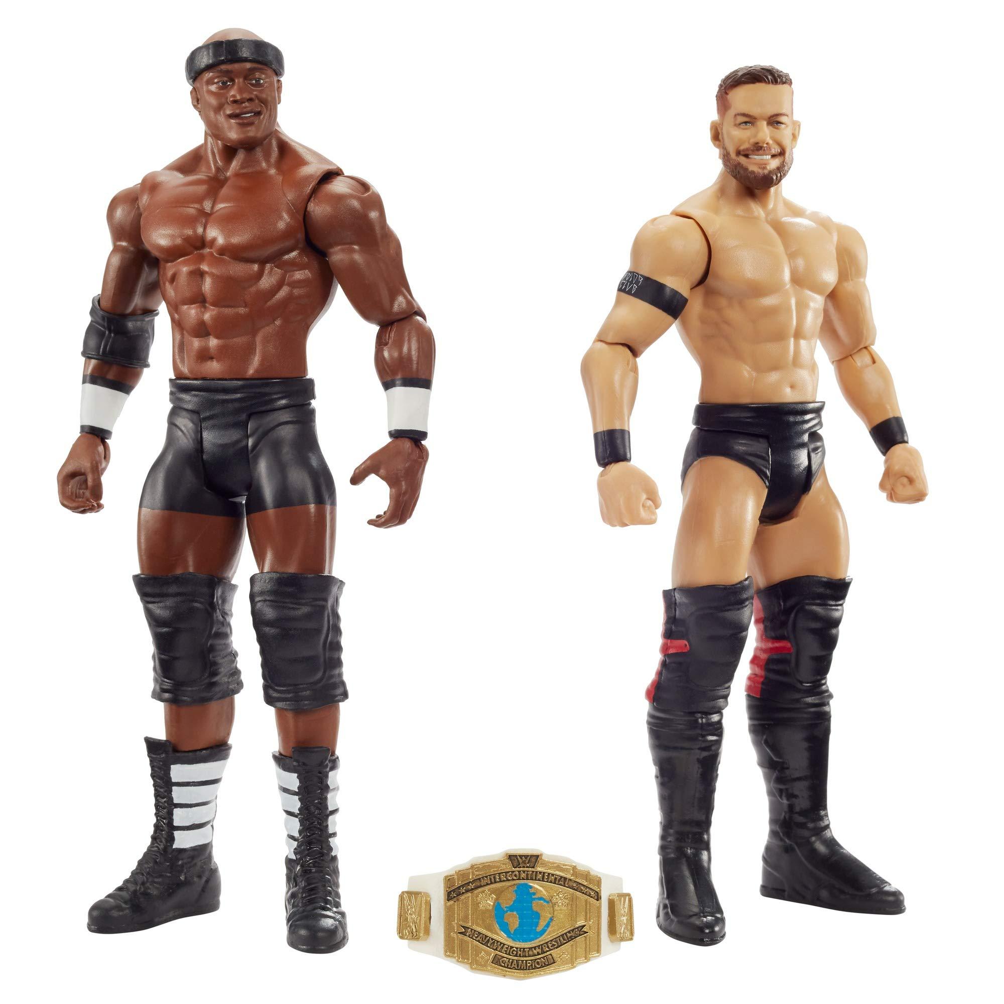 WWE Pack de Dos Luchadores, Figuras Finn Balor vs Bobby Lashley (Mattel GLB26): Amazon.es: Juguetes y juegos