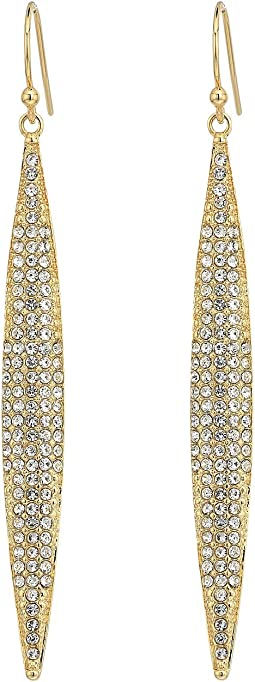 Vince Camuto Crystal Pave Spear Earrings