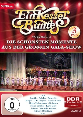 Ein Kessel Buntes - Die schönsten Momente aus der großen Gala-Show, Vol. 1-3 (DDR TV-Archiv) (3 DVDs)