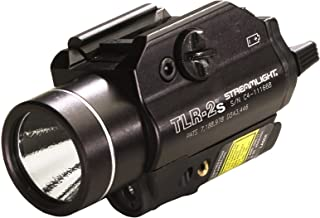 Streamlight 69230 TLR-2s Rail Mounted Strobing Tactical Light with Laser Sight and Rail Locating Keys - 300 Lumens