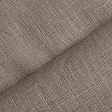 (8,99€/m) Holmar - Tela 100% lino - Prelavado - Translúcido - Por metro (piedra)
