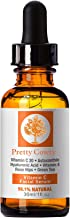 Vitamin C Serum - Nourish Skin & Allow To Heal Naturally- Protect, Brighten and Tone Skin - Aids In Tightening - Face Care That Provides A Youthful Glow with Hyaluronic Acid, Rosehip Oil, Green Tea
