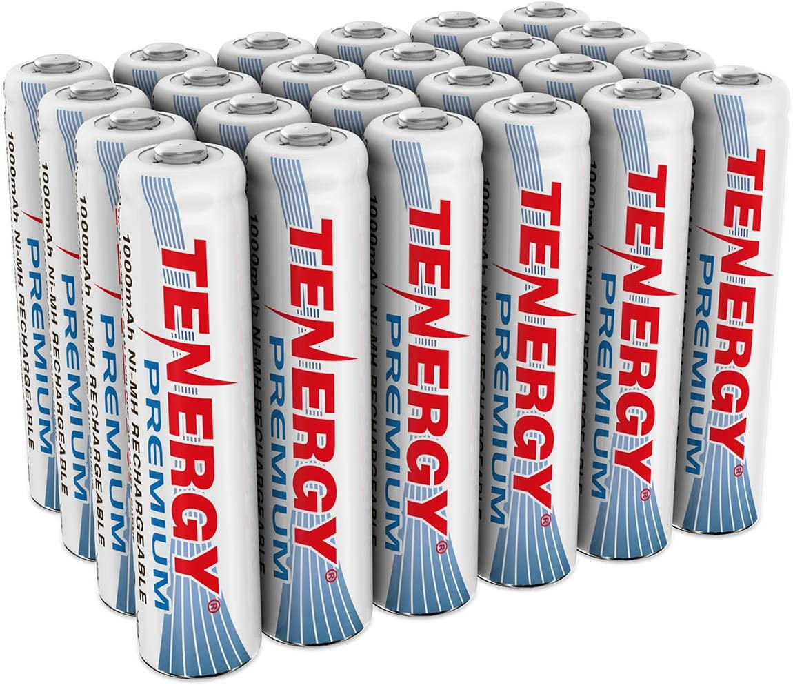 Tenergy Premium Rechargeable AAA Bargain sale Genuine Free Shipping 1000mA Capacity High Batteries