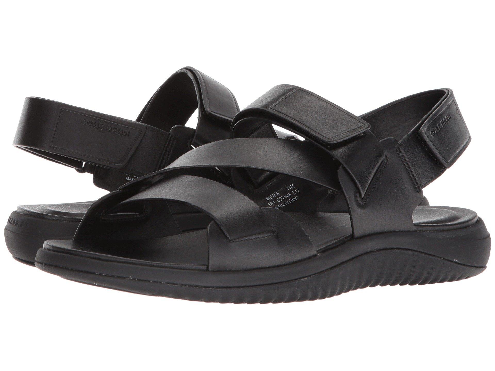 black zerogrand Multi Sandal Leather Black 2 Cole Strap Haan qFzxOqwZ