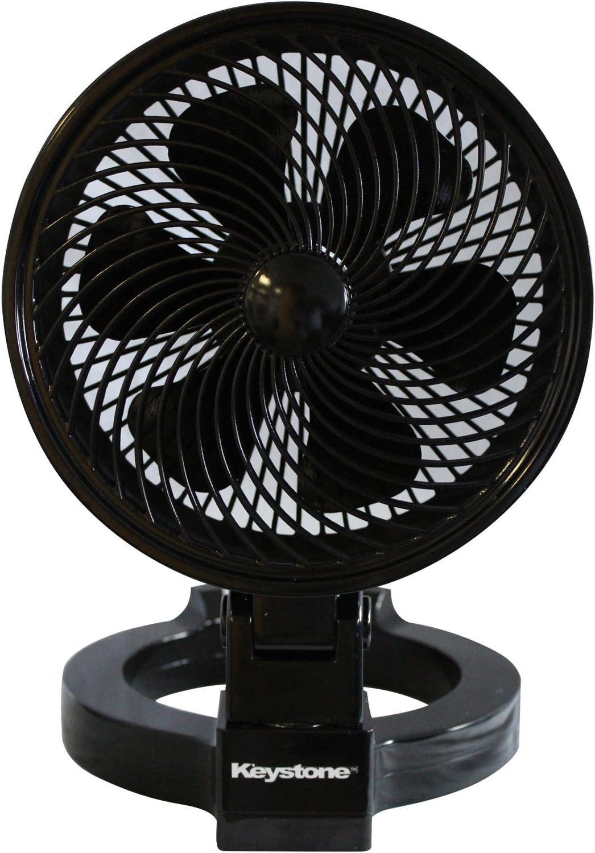 Keystone KSTFD070CAG Convertible Max 40% OFF Fan Black depot 7-Inch