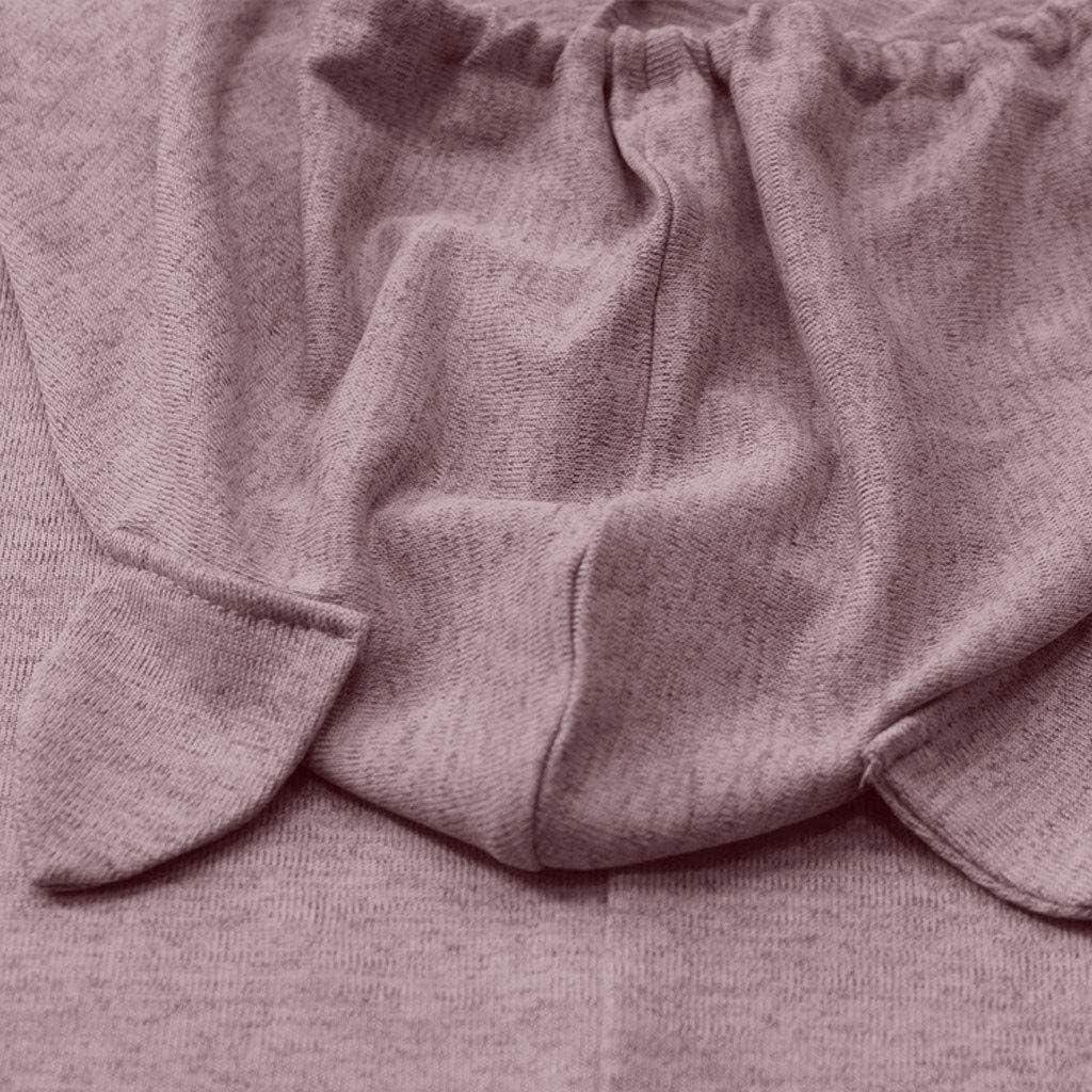 TUDUZ NoëL Cadeaux Chemisiers Grande Taille Blouses Sweatshirt Motif de Noël imprimé Femme Automne Hiver Christmas Tops Manches Longues Mignon Chemisier Tunique S-5XL X1-d -Rose