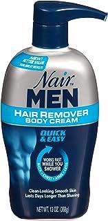 Nair Hair Remover for Men Hair Remover Body Cream, 13 oz