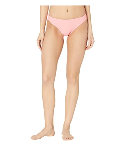 Nike Ribbed Bikini Bottom (Pink Gaze) Women