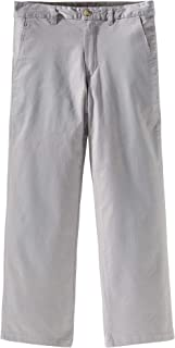 Spring&Gege Boys' Cotton Twill Flat Front Uniform Stretch Chino Pants