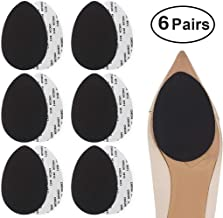Dr. Foot Self-Adhesive Non-Skid Shoe Pads Anti Slip Shoe Grips for High Heels, Anti-Shedding Non-Slip Rubber Sole Protectors (6 Pairs)