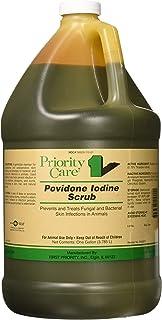 First Priority Povidone Iodine Surgical Scrub, 1 Gallon (3.785 Liters)