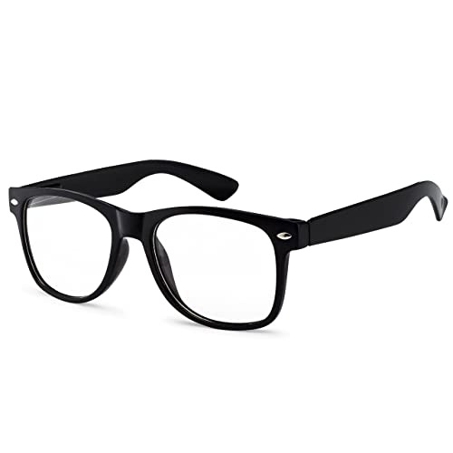 8cfc9b7cd9 OWL - Non Prescription Glasses for Women and Men - Clear Lens - UV  Protection