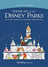 Art of Coloring: Poster Art of the Disney Parks: 36 Postcards to Inspire Creativity PDF