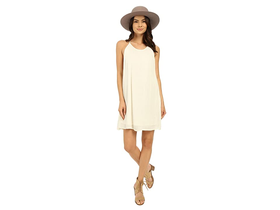Roxy Passing Sky Solid Dress (Sand Piper) Women