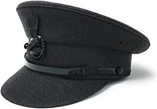 Chauffeur Hat Cap for Men Women Unisex. Quality Driving Cap. Lined. Sturdy. Black or Grey