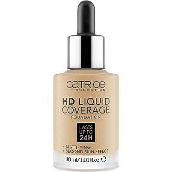 Catrice   HD Liquid Coverage Foundation   High & Natural Coverage   Vegan & Cruelty Free (034   Medium Beige)