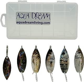 Aqua Dream Live Bait Weedless Spoon Kit 5pc