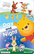 Disney Baby Winnie the Pooh - Day and Night Take-a-Look Board Book - Look and Find - PI Kids