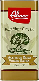 【始于1840年 地中海饮食橄榄油倡导品牌】Abaco 佰多力特级初榨橄榄油5L 西班牙原瓶原装进口 酸度≤0.5% (国际要求特级初榨橄榄油酸度≤0.8%)(5L或1L*5随机发货)