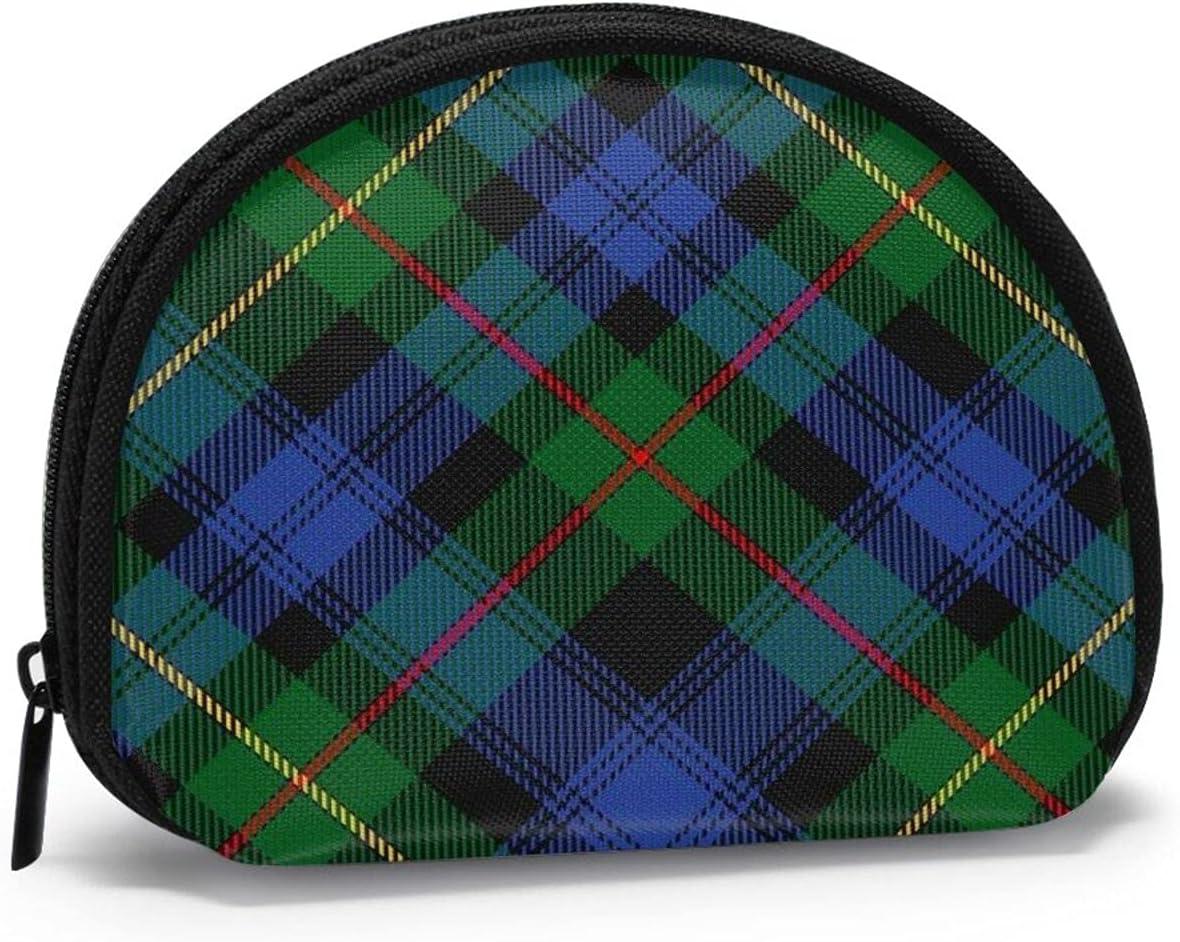 Scottish Clan Macewen Mcewen Tartan Cute small zipper Coin Purses Vintage zipper Pouch Change Purse Wallets