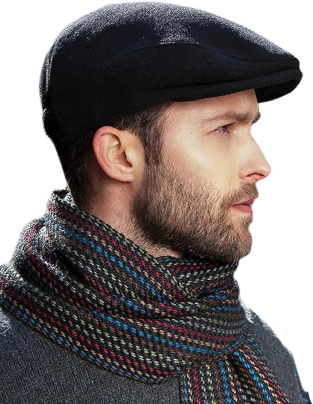 Irish Trinity Tweed Flat Cap for Men's Made in Ireland
