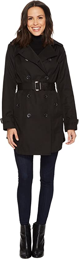 MICHAEL Michael Kors Double Breasted Belted Trench M722579B74