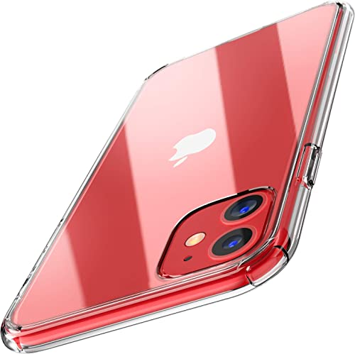 high quality TOZO for iPhone 11 Case 6.1 Inch (2019) Hybrid PC+TPU Soft Grip Matte Finish Clear Back online outlet online sale Panel Cover for iPhone 11 with Clear outlet online sale