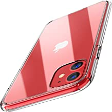 TOZO for iPhone 11 Case 6.1 Inch (2019) Hybrid Soft Grip Matte Finish Clear Back Panel Ultra-Thin [Slim Thin Fit] Cover for iPhone 11 with [Clear]