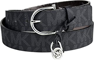 MICHAEL Michael Kors MK Signature Monogram Logo Belt