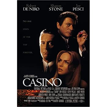 Casino Movie Poster 24 x 36 Inches Full Sized Print Unframed Ready for Display