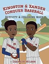 Kingston & Xander Conquer Baseball: Activity & Coloring Book