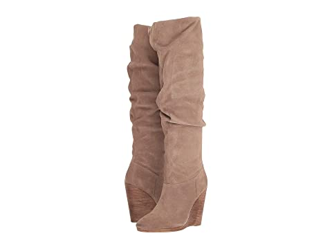 CHARLES BY CHARLES DAVID Holly Boot, Taupe Suede