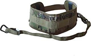 Brute Belt - Nylon Dip Pullup Squat Belt (Camo, Small)