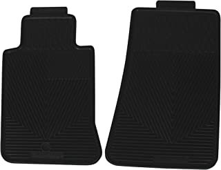 Highland 4603000 All-Weather Black Front Seat Floor Mat