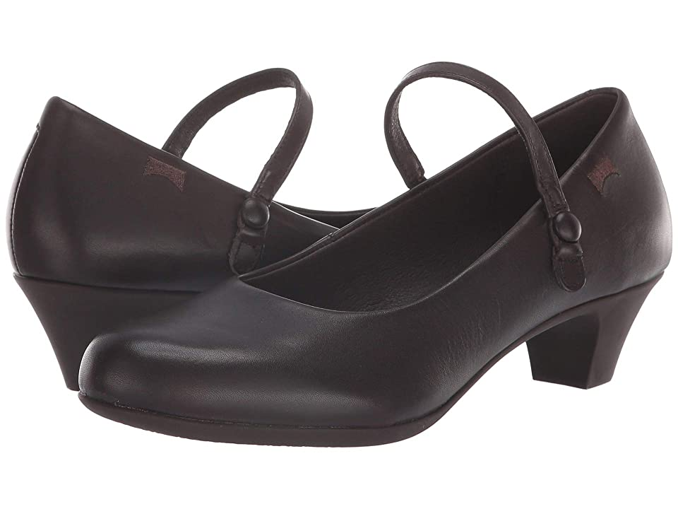 Camper Helena Bajo - 20202 (Dark Brown) Women's Shoes