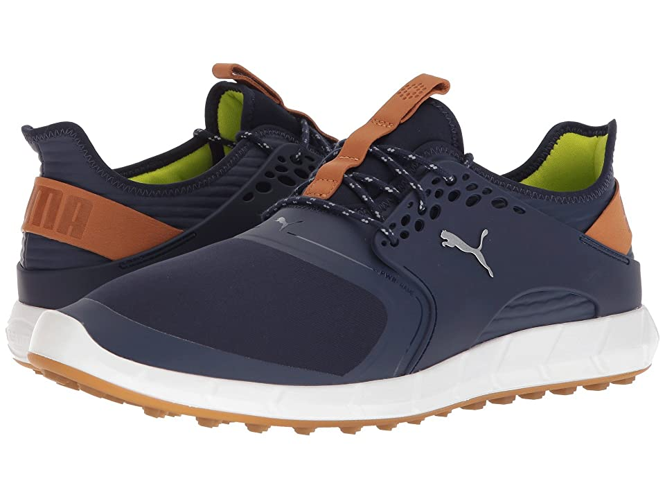 PUMA Golf Ignite Power Sport (Peacoat/Puma Silver) Men