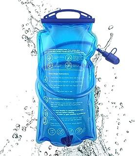 JOYHILL Hydration Bladder 3 2 1.5 L Water Bladder BPA Free 3 Liter Large Opening Water Reservoir Leak Proof Military Water Storage Bladder Bag for Cycling Hiking Camping Biking Running