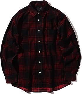 (ビームス)BEAMS/カジュアルシャツ チェック コーデュロイ ネオルーズ ミニレギュラー シャツ メンズ