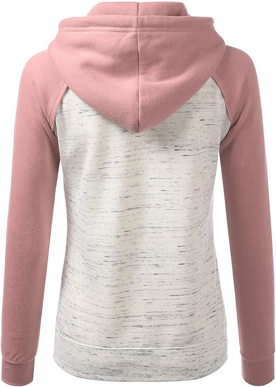 Fancy Sweatshirt Damen Winter Warm Hoodies Langen Mantel Jacke Outwear Hoodie Outwear Kapuzenpullover C-rosa