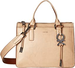 Brynn Athene Wash Leather Satchel