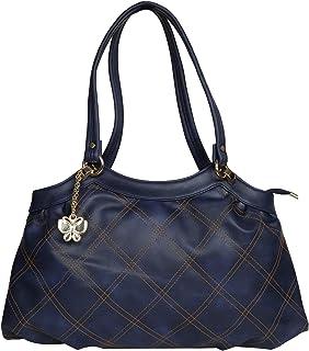 (Butterflies Women Handbag (Blue) (BNS 0707BL)